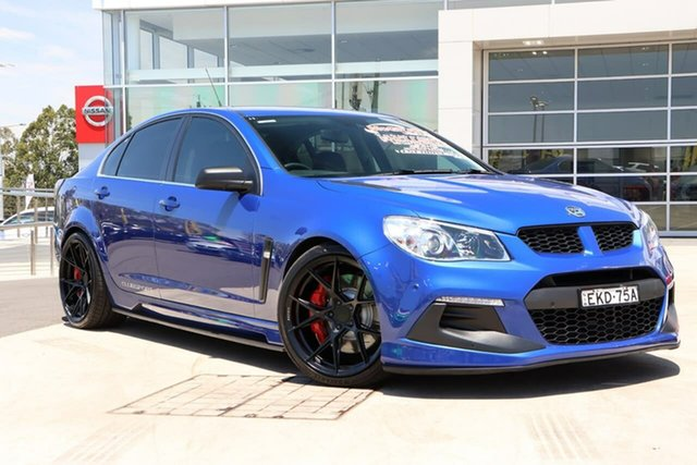 Used Holden Special Vehicles ClubSport Gen-F2 MY16 R8 LSA Liverpool, 2016 Holden Special Vehicles ClubSport Gen-F2 MY16 R8 LSA Slipstream Blue 6 Speed Manual Sedan