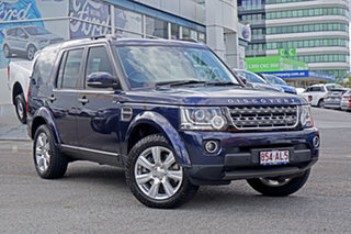 2014 Land Rover Discovery Series 4 L319 MY14 SDV6 SE Blue 8 Speed Sports Automatic Wagon.