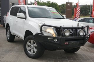 2017 Toyota Landcruiser Prado GDJ150R GXL White 6 Speed Sports Automatic Wagon.
