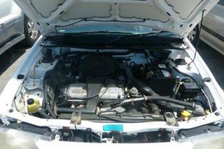 1993 Ford Laser White Hatchback