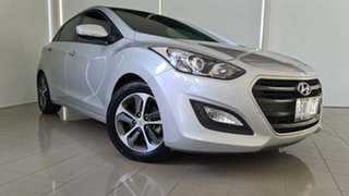 2015 Hyundai i30 GD4 Series II MY16 Active X DCT Silver 7 Speed Sports Automatic Dual Clutch.