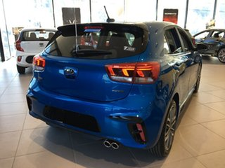 2020 Kia Rio YB MY21 GT-Line DCT Sporty Blue 7 Speed Sports Automatic Dual Clutch Hatchback