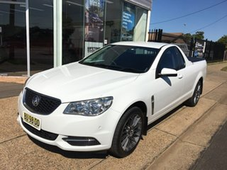 2013 Holden Ute VF White Sports Automatic.
