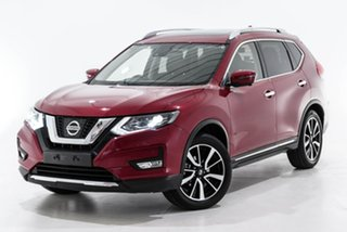 2018 Nissan X-Trail T32 Series II Ti X-tronic 4WD Red 7 Speed Constant Variable Wagon.