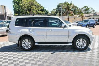 2016 Mitsubishi Pajero NX MY16 Exceed White 5 Speed Sports Automatic Wagon.