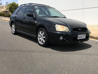 2005 Subaru Impreza S MY05 RS-X AWD Black 5 Speed Manual Hatchback.
