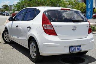 2012 Hyundai i30 FD MY11 SX White 4 Speed Sports Automatic Hatchback.