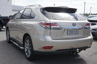 2013 Lexus RX GYL15R MY12 RX450h Sports Luxury Gold 6 Speed Constant Variable Wagon
