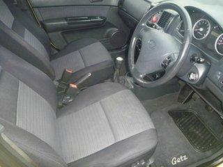2007 Hyundai Getz TB MY06 Yellow 5 Speed Manual Hatchback.