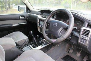 2006 Nissan Patrol GU IV MY05 ST Blue 5 Speed Manual Wagon