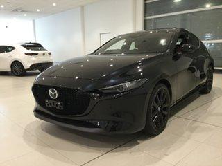 2019 Mazda 3 BP2HL6 G25 SKYACTIV-MT Astina Jet Black 6 Speed Manual Hatchback