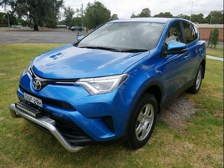 2017 Toyota RAV4 ZSA42R MY17 GX (2WD) Blue Gem Continuous Variable Wagon.
