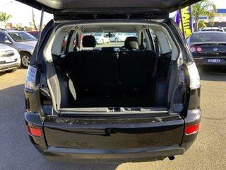 2009 Mitsubishi Outlander ZG MY09 LS Black 6 Speed CVT Auto Sequential Wagon