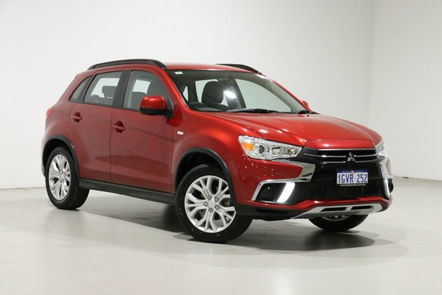 Used Mitsubishi ASX XC MY19 ES (2WD) Bentley, 2019 Mitsubishi ASX XC MY19 ES (2WD) Red Continuous Variable Wagon