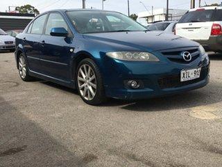 2005 Mazda 6 GG1031 MY04 Luxury Sports Blue 5 Speed Manual Hatchback.
