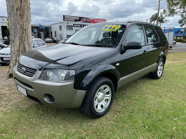 Used Ford Territory SY MkII TX Clontarf, 2009 Ford Territory SY MkII TX Black 4 Speed Sports Automatic Wagon