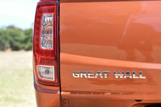 2017 Great Wall Steed NBP 4x2 Orange 5 Speed Manual Utility