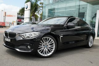 2016 BMW 420d F36 MY15 Gran Coupe Luxury Line Black Sapphire 8 Speed Automatic Coupe.