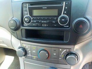 2012 Toyota Kluger GSU40R MY11 Upgrade KX-R (FWD) 5 Seat Silver 5 Speed Automatic Wagon