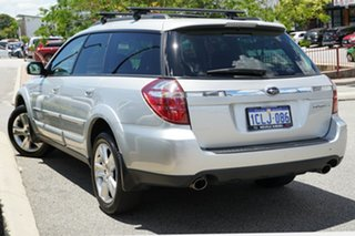 2007 Subaru Outback B4A MY07 Luxury D/Range AWD Brilliant Silver 5 Speed Manual Wagon.