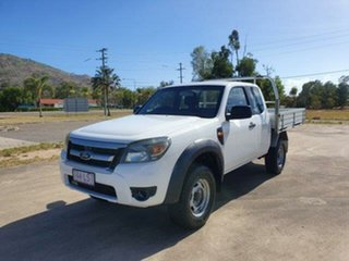 2009 Ford Ranger PK XL Hi-Rider Cool White 5 Speed Manual