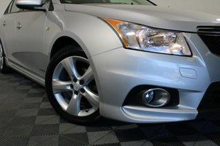 2011 Holden Cruze JH Series II MY12 SRi-V Silver 6 Speed Manual Sedan.