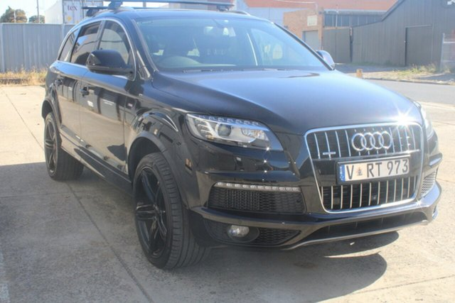 Used Audi Q7 MY14 3.0 TDI Quattro West Footscray, 2013 Audi Q7 MY14 3.0 TDI Quattro 8 Speed Automatic Tiptronic Wagon