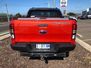 2013 Ford Ranger PX Wildtrak Double Cab Orange 6 Speed Manual Utility.