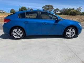 2015 Holden Cruze JH Series II MY15 Equipe Blue 5 Speed Manual Hatchback
