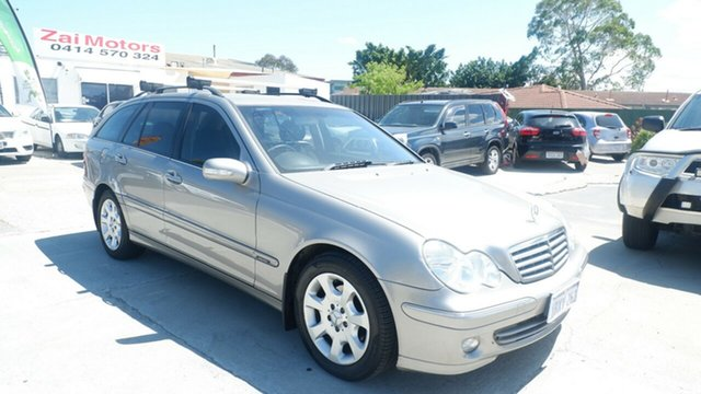 Used Mercedes-Benz C-Class S203 MY2005 C200 Kompressor Elegance St James, 2005 Mercedes-Benz C-Class S203 MY2005 C200 Kompressor Elegance Silver 5 Speed Sports Automatic