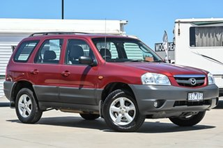 2005 Mazda Tribute MY2004 Limited Sport Red 4 Speed Automatic Wagon.