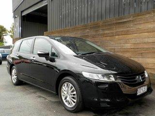 2009 Honda Odyssey 4th Gen MY09 Black 5 Speed Sports Automatic Wagon.