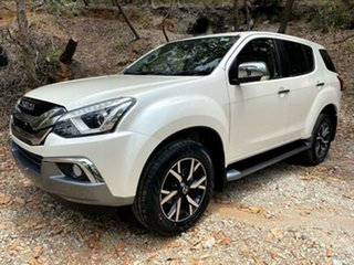 2019 Isuzu MU-X MY19 LS-U Rev-Tronic 4x2 Splash White 6 Speed Sports Automatic Wagon.