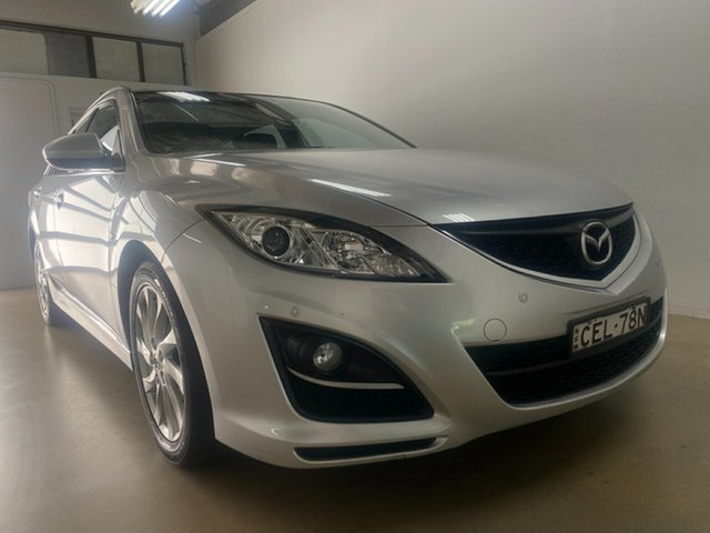 Used Mazda 6 GH MY11 Touring Phillip, 2011 Mazda 6 GH MY11 Touring Silver 5 Speed Auto Activematic Wagon