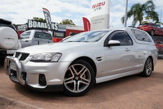 2012 Holden Commodore VE II MY12 SV6 Silver 6 Speed Automatic Utility.