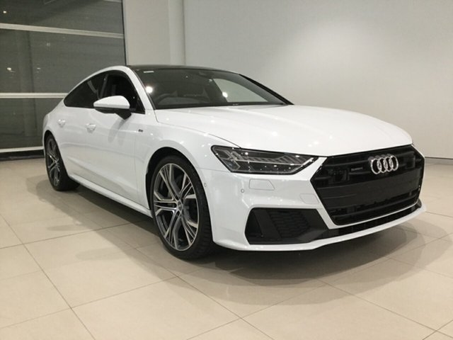 Used Audi A7 4K MY19 55 TFSI Sportback S Tronic Quattro Ultra Alexandria, 2018 Audi A7 4K MY19 55 TFSI Sportback S Tronic Quattro Ultra White 7 Speed