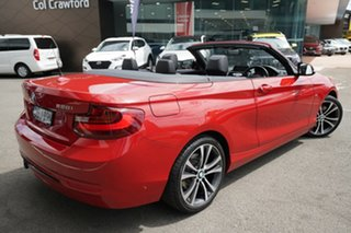 2015 BMW 228i F23 MY16 Sport Line Melbourne Red 8 Speed Automatic Convertible