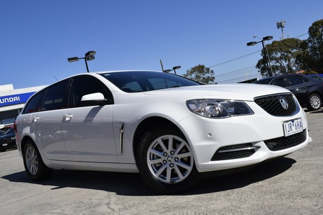 Used Holden Commodore VF II MY17 Evoke Sportwagon Ferntree Gully, 2017 Holden Commodore VF II MY17 Evoke Sportwagon White 6 Speed Sports Automatic Wagon