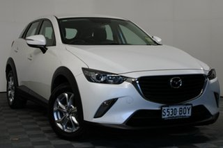 2017 Mazda CX-3 DK2W7A Maxx SKYACTIV-Drive Snowflake White 6 Speed Sports Automatic Wagon.