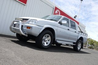 2005 Mitsubishi Triton MK MY05.5 GLX-R Double Cab 5 Speed Manual Utility.