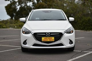2015 Mazda 2 DJ2HA6 Genki SKYACTIV-MT White 6 Speed Manual Hatchback.