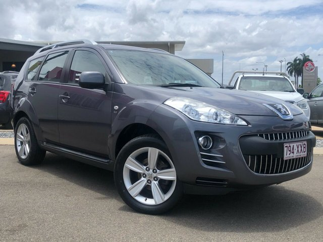 Used Peugeot 4007 MY12 ST DCS Auto HDi Garbutt, 2011 Peugeot 4007 MY12 ST DCS Auto HDi Grey 6 Speed Sports Automatic Dual Clutch Wagon