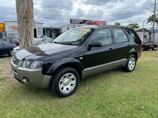 2009 Ford Territory SY MkII TX Black 4 Speed Sports Automatic Wagon.