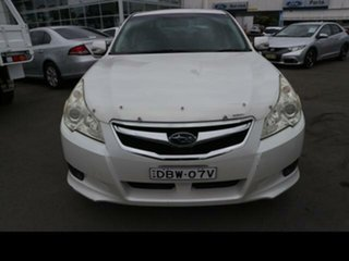 2010 Subaru Liberty MY10 2.5I Premium White Continuous Variable Sedan