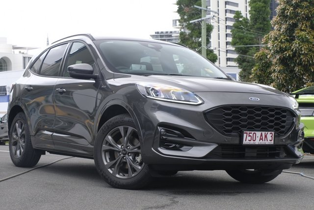 Demo Ford Escape ZH 2020.75MY ST-Line Newstead, 2020 Ford Escape ZH 2020.75MY ST-Line Magnetic 8 Speed Sports Automatic SUV