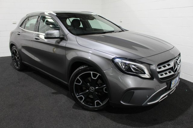 Used Mercedes-Benz GLA-Class X156 807MY GLA250 DCT 4MATIC Glenorchy, 2017 Mercedes-Benz GLA-Class X156 807MY GLA250 DCT 4MATIC Grey 7 Speed Sports Automatic Dual Clutch