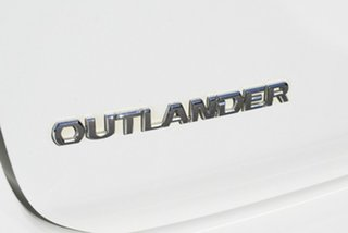 2015 Mitsubishi Outlander ZK MY16 LS 2WD White 6 Speed Constant Variable Wagon