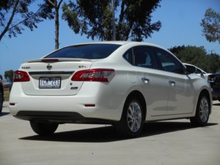 2013 Nissan Pulsar B17 ST-L White 1 Speed Constant Variable Sedan