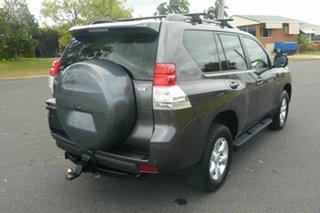 2010 Toyota Landcruiser Prado GRJ150R GXL Grey 5 Speed Sports Automatic Wagon.