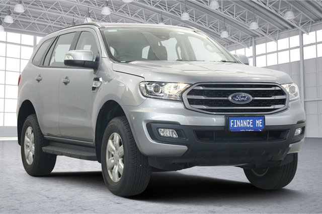 Used Ford Everest UA II 2019.75MY Ambiente Victoria Park, 2019 Ford Everest UA II 2019.75MY Ambiente Aluminium 6 Speed Sports Automatic SUV